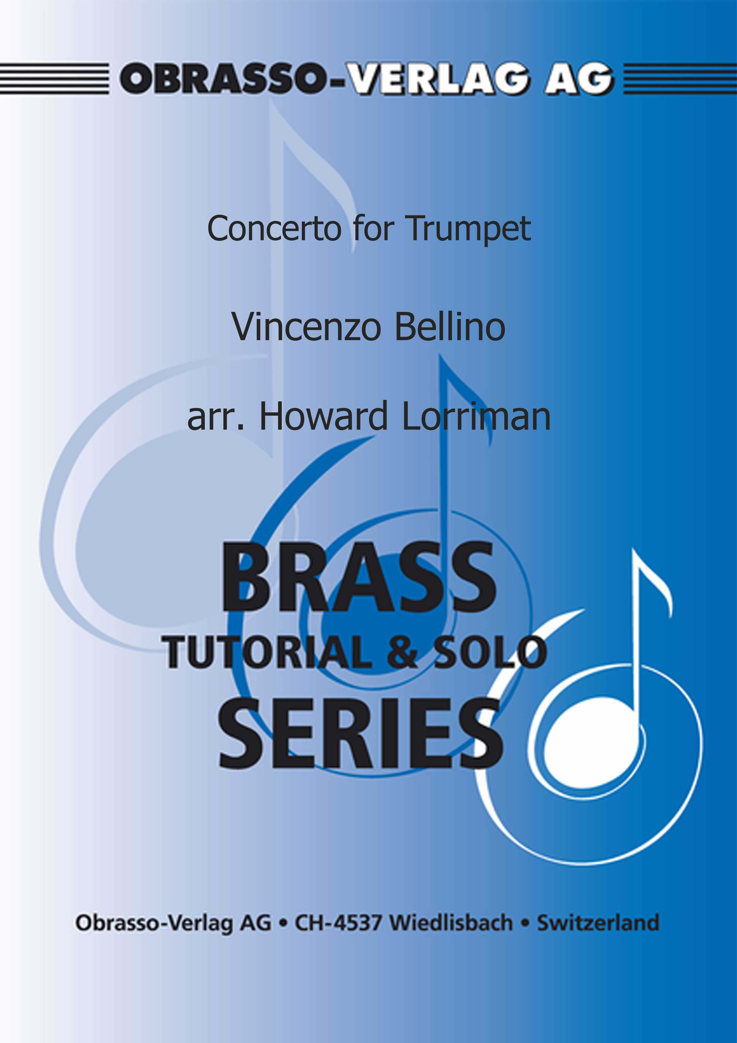 Concerto for Trumpet (Trumpet Solo with Piano Accompaniment)