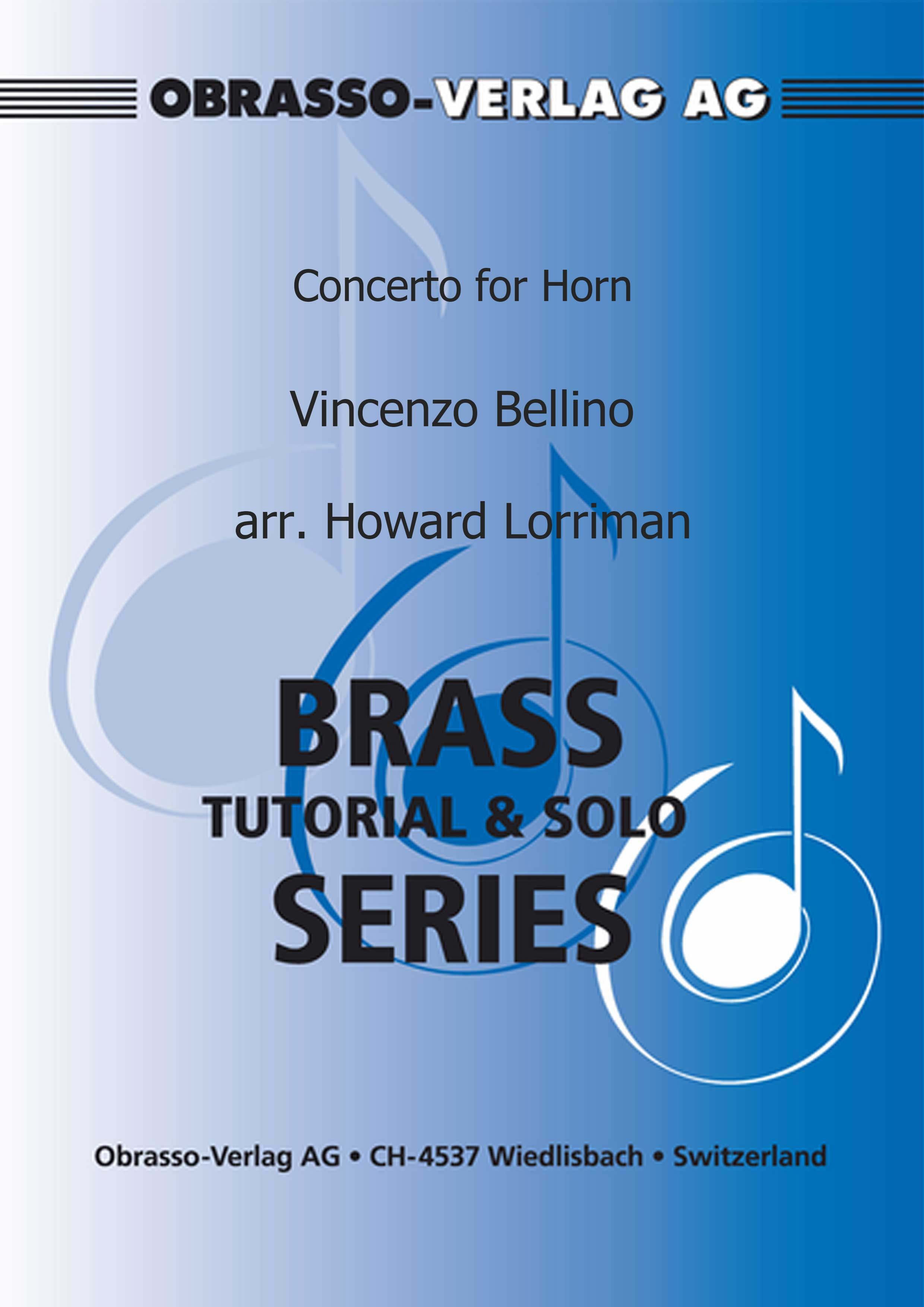Concerto for Horn (Horn Solo with Piano Accompaniment)