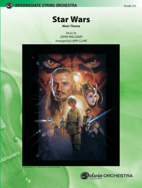 Star Wars (Main Theme) (String Orchestra – Score and Parts)