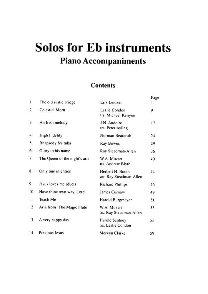 Eb Solos Album