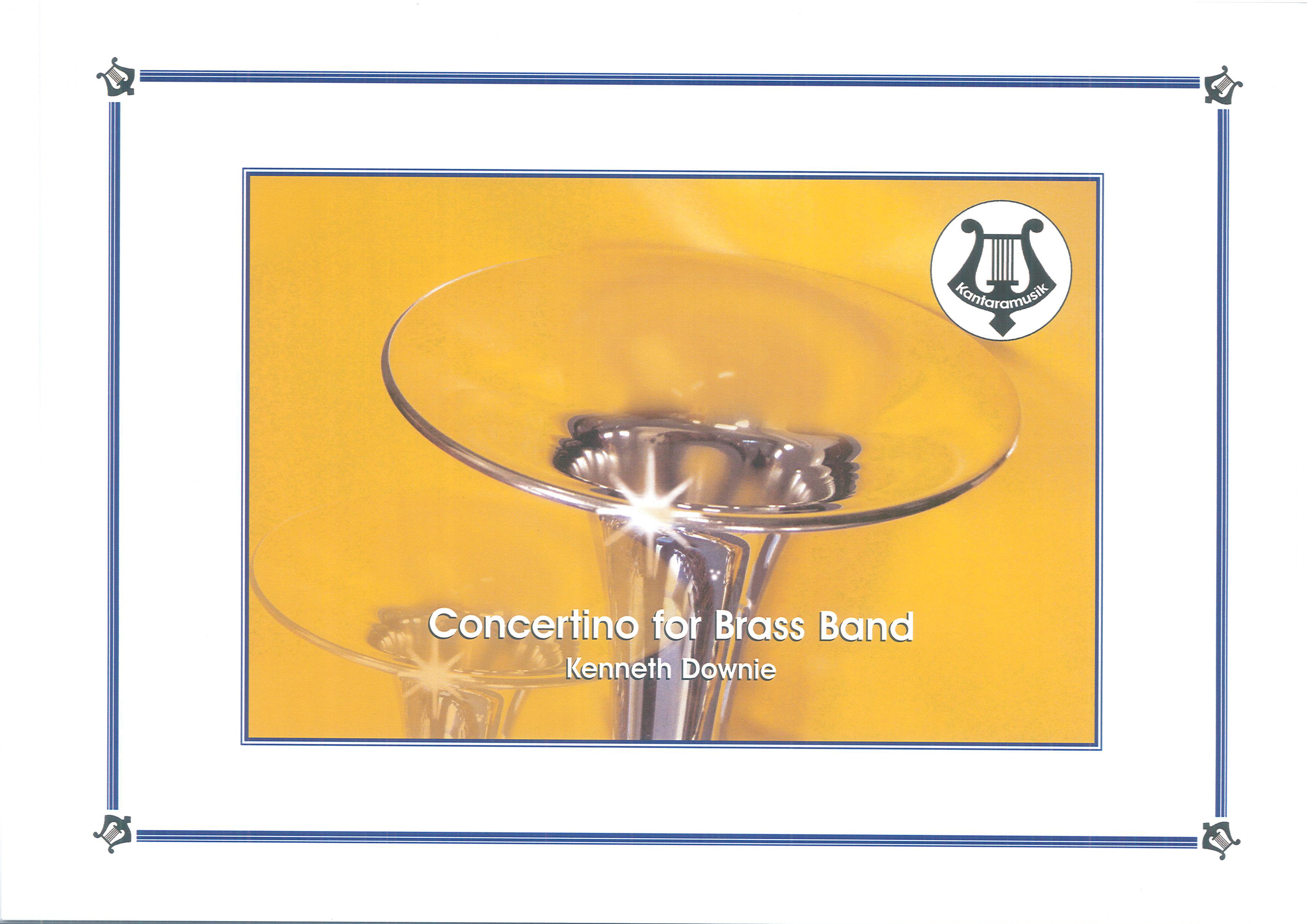 Concertino For Brass Band (Brass Band - Score and Parts)