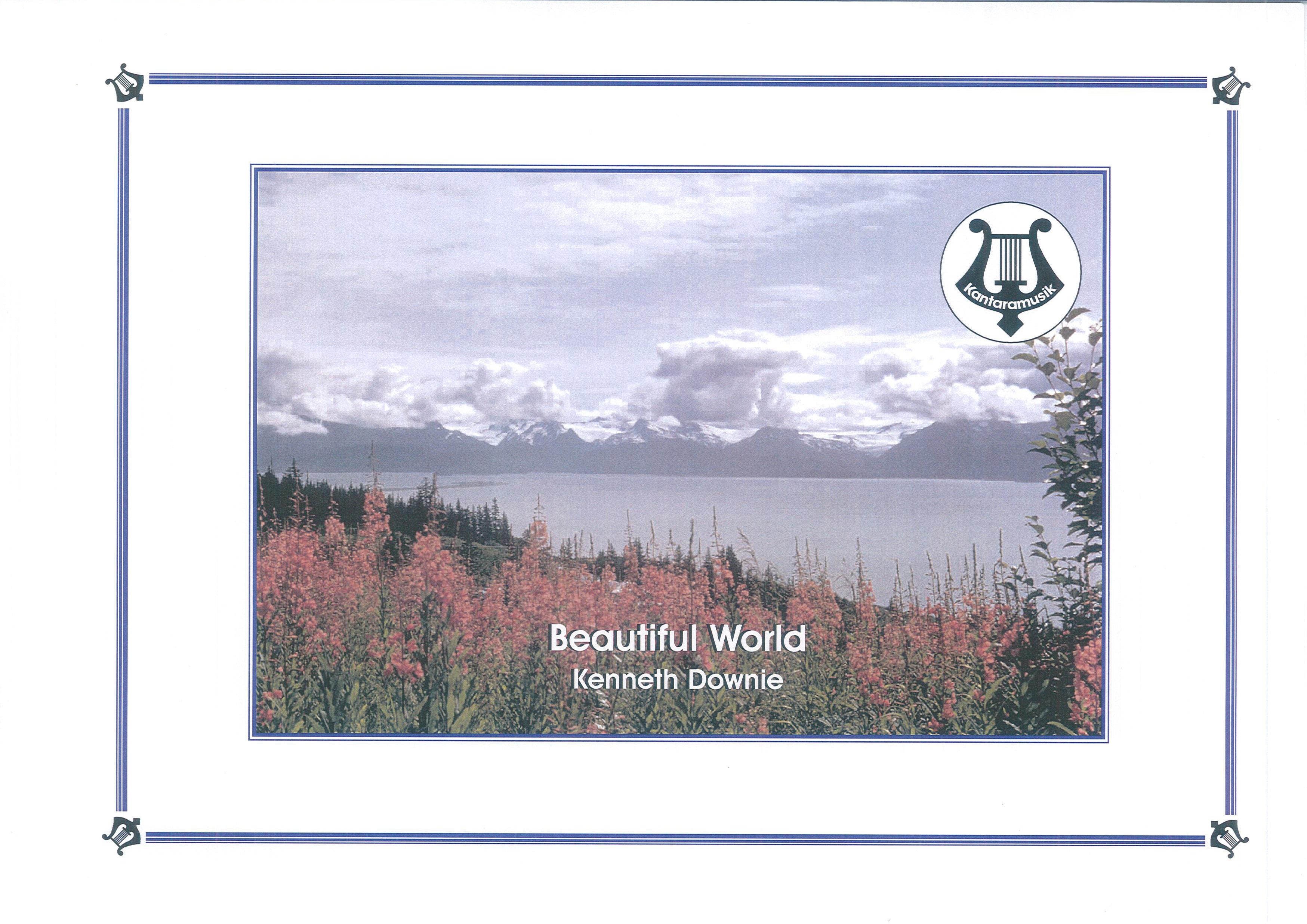 Beautiful World (Brass Band - Score and Parts)