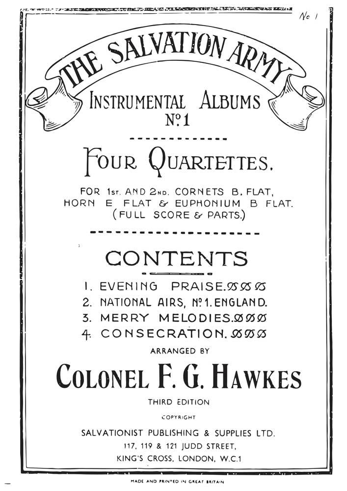 Instrumental Album No.1 - Four Quartettes