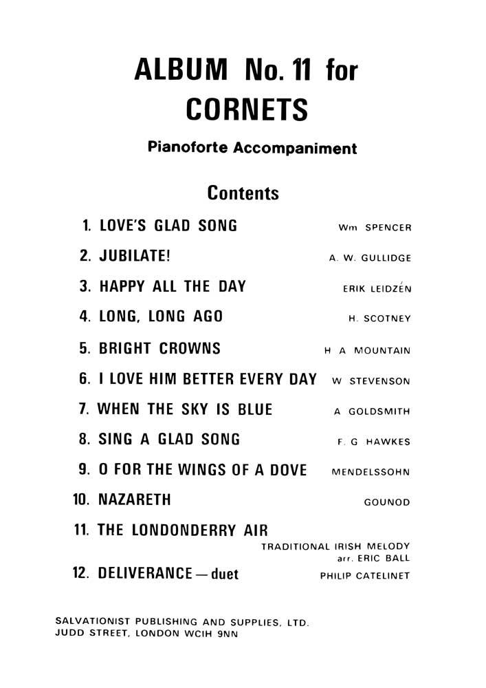 Instrumental Album No.11 - Cornet Solos