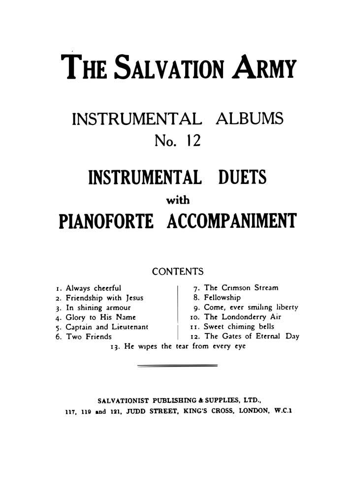 Instrumental Album No.12 - Instrumental Duets