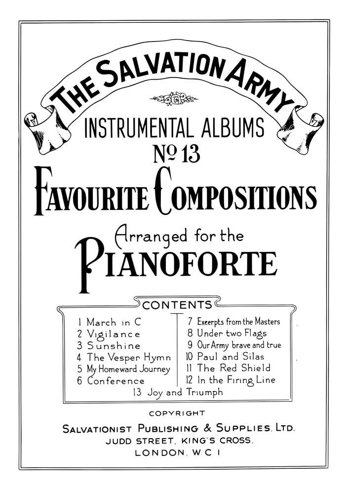 Instrumental Album No.13 - Piano Solos