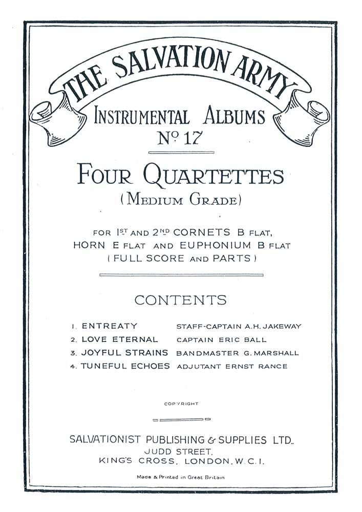 Instrumental Album No.17 - Four Quartettes