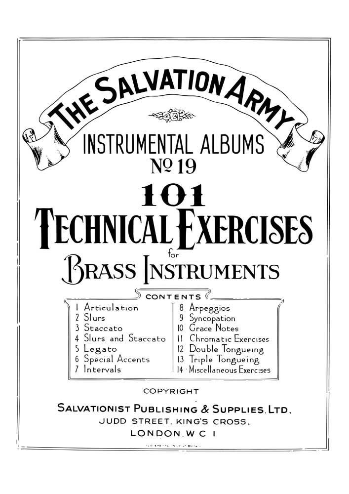 Instrumental Album No.19 - 101 Technical Exercises
