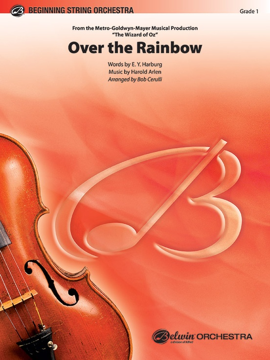 Over the Rainbow (from The Wizard of Oz) (String Orchestra – Score and Parts)