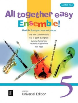 All Together Easy Ensemble Volume 5 (Flexible Four Part Ensemble)