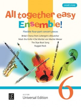 All Together Easy Ensemble Volume 6 (Flexible Four Part Ensemble)