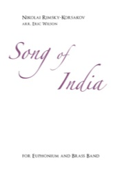 Song of India (Euphonium Solo with Brass Band - Score and Parts)