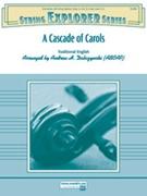CASCADE OF CAROLS, A (String Orchestra)