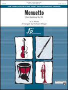 MENUETTO (from Symphony No.39) (Full Orchestra)