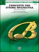CONCERTO FOR STRING ORCHESTRA (from Concerto a Quattro) (String Orchestra)