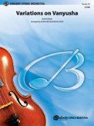 VARIATIONS ON VANYUSHA (String Orchestra)