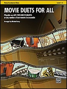 MOVIE DUETS FOR ALL (Alto Saxophone - Eb Saxes or Eb Clarinets)