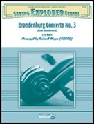 BRANDENBURG CONCERTO NO 3 (First Movement) (String Orchestra)