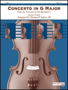 CONCERTO IN G MAJOR (from the Concerto for Two Mandolins) (String Orchestra)