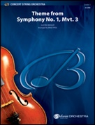 SYMPHONY No.1 Mvt.3, Theme from (Concert String Orchestra)