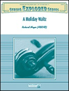 A HOLIDAY WALTZ (String Orchestra)