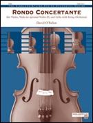 RONDO CONCERTANTE (String Trio feature) (String Orchestra)