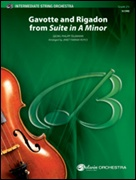 GAVOTTE AND RIGADON (from Suite in A minor) (Easy String Orchestra)