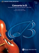CONCERTO IN D (Intermediate String Orchestra)