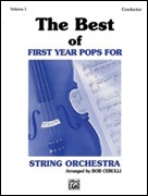 BEST OF FIRST YEAR POPS FOR STRING ORCHESTRA Vol.1 (Score)