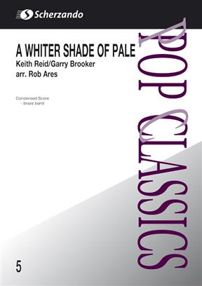A Whiter Shade of Pale (Brass Band - Score and Parts)