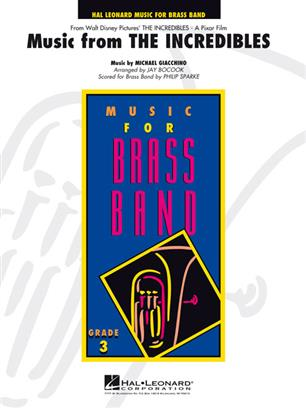 Music from the Incredibles (Brass Band - Score and Parts)