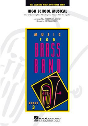 High School Musical (Brass Band - Score and Parts)