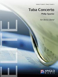 TUBA CONCERTO (Sparke) (Tuba with Brass Band - Score and Parts)