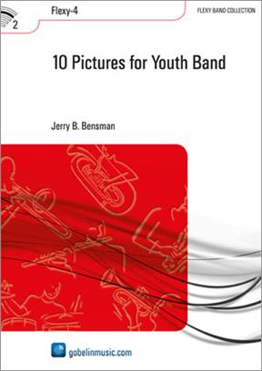 10 Pictures for Youth Band  Wind Band Set (Score & Parts)