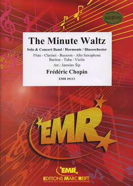 MINUTE WALTZ, The (Flexible Solo with Advanced Concert Band)