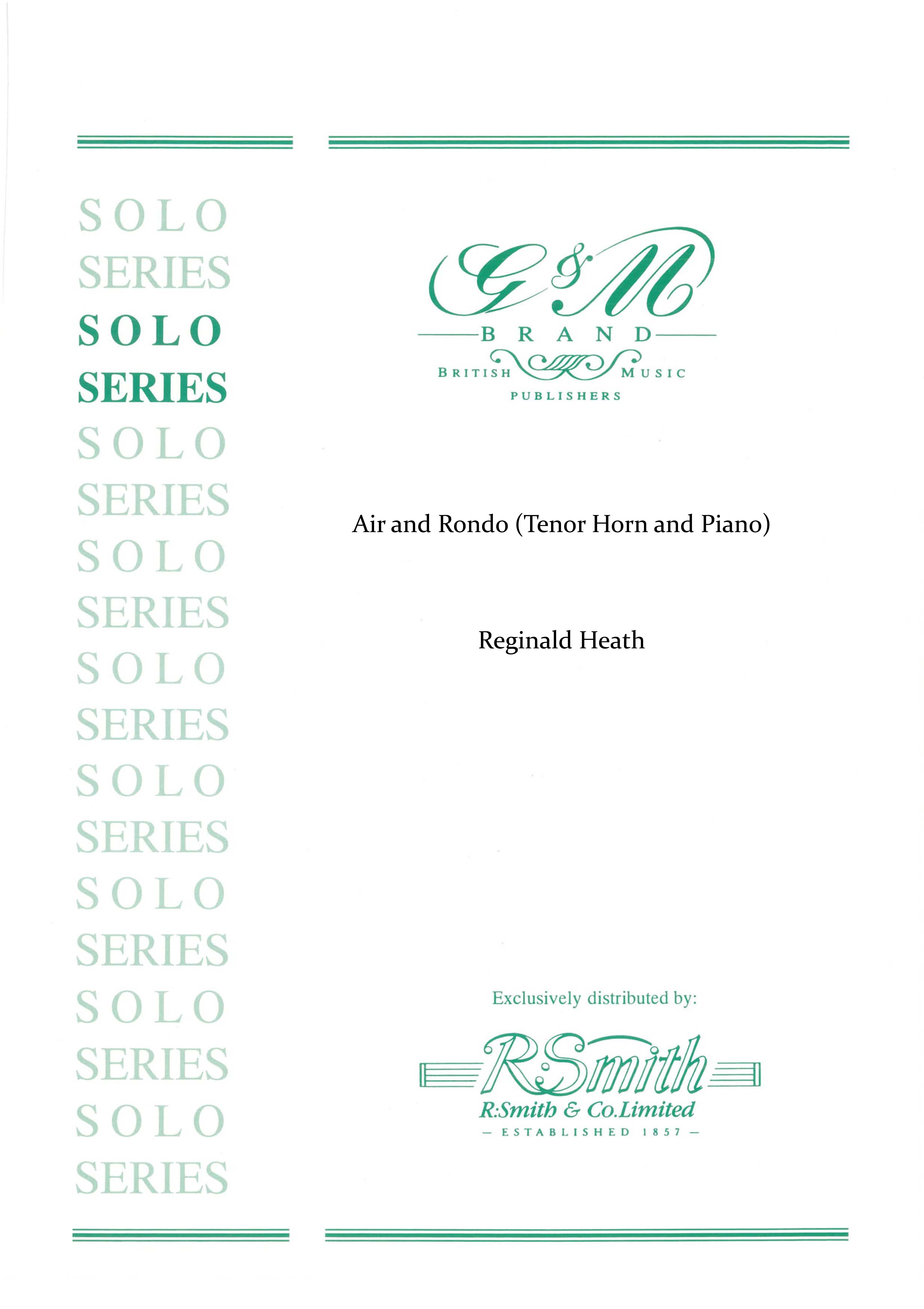 Air and Rondo (Tenor Horn and Piano)