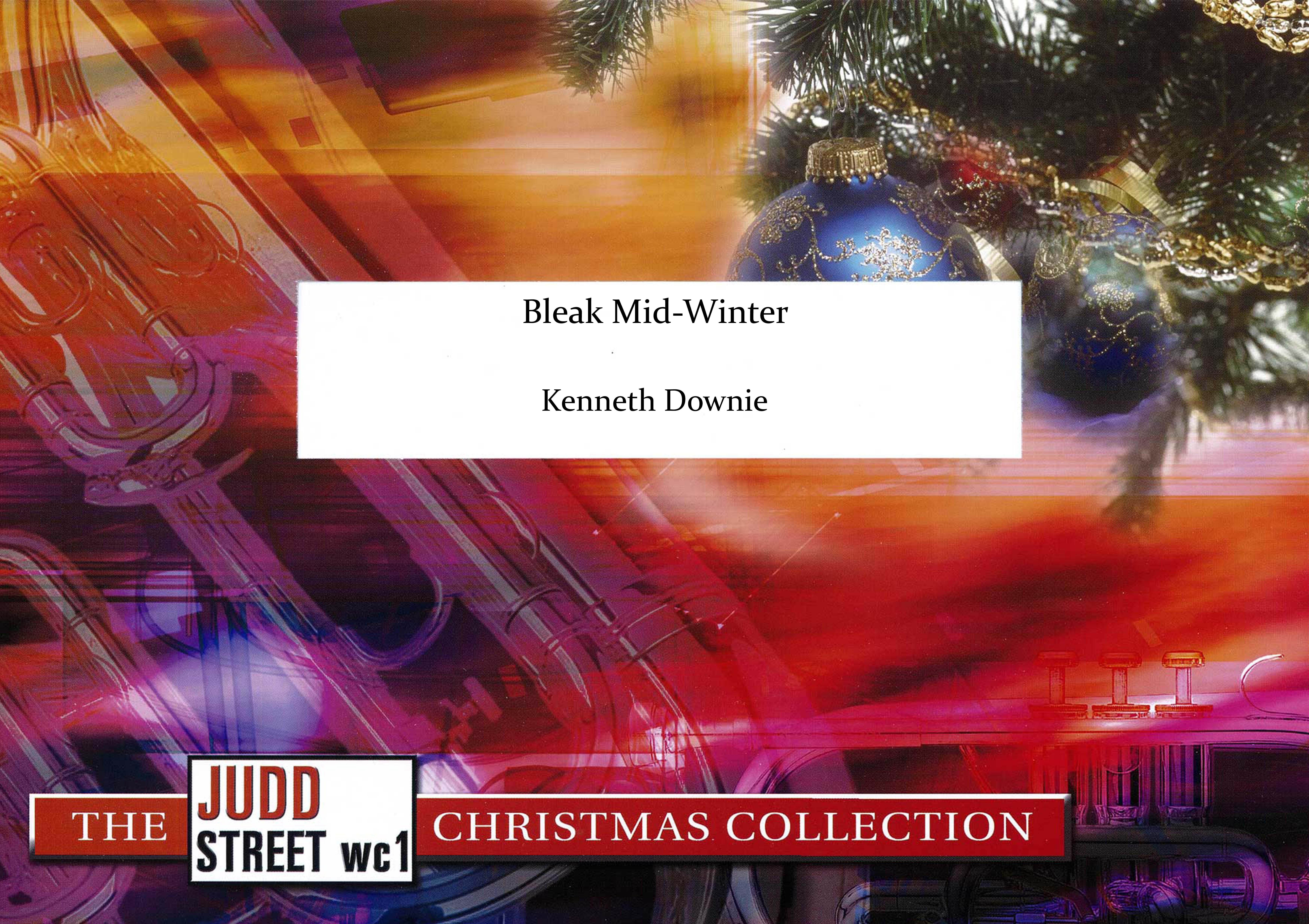 Bleak Mid-Winter (Brass Band - Score only)