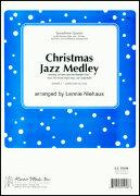 CHRISTMAS JAZZ MEDLEY (SATB/AATB Saxophone Quartet)