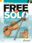FREE TO SOLO (Flute/Violin Book/CD