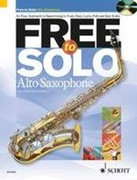 FREE TO SOLO (Alto Sax Book/CD