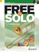 FREE TO SOLO (Trombone BC Book/CD