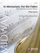 IN MEMORIAM: FOR THE FALLEN On a Poem by Laurence Binyon (Brass Band)