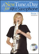 NEW TUNE A DAY FOR SAXOPHONE Book 1 (Book/CD)