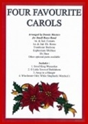 FOUR FAVOURITE CAROLS (Easy Brass Band)