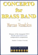 CONCERTO for Brass Band No.1 (Venables) (Brass Band Set)