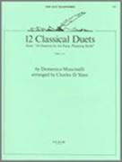 12 CLASSICS DUETS (AA Saxophone Duet)