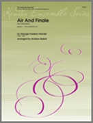 AIR AND FINALE (from Water Music) (AATB Saxophone Quartet)