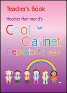 COOL CLARINET REPERTOIRE Book 1 (Clarinet Teacher's Book)