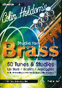 Colin Holdom's studio for brass image