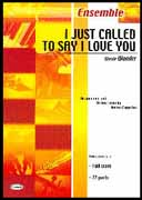 I JUST CALLED TO SAY I LOVE YOU (Carisch Ensemble)